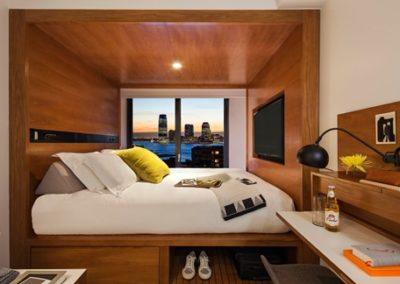 Portable hotel cabin