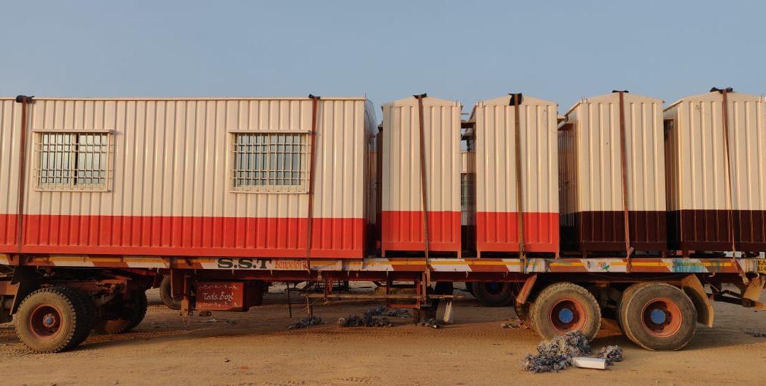 SAMAN Porta cabins manufacturer