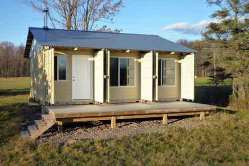 environment friendly portable house