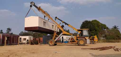 portable bunkhouse manufactures bangalore