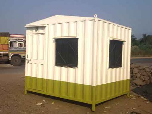 Security Cabin in India